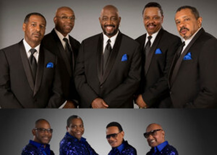 The Temptations and The Four Tops image